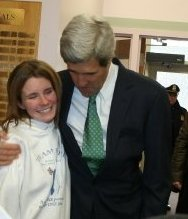 My first opportunity to share with Senator Kerry my heartfelt gratitude.
