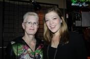 My mom and the amazing Liz Longley